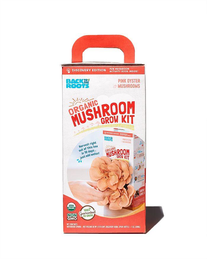 Organic Mushroom Grow Kit, Pink Oyster