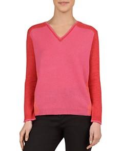 Gerard Darel - Jessie Color-Blocked Cashmere Sweater