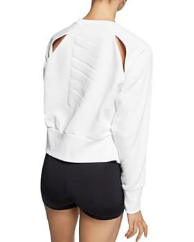 Nike - Dry Cutout Cropped Sweatshirt