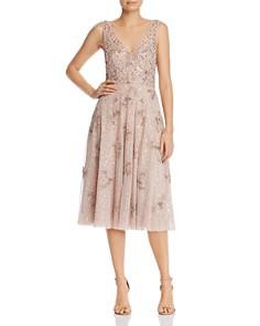 Aidan Mattox - Embellished Midi Dress