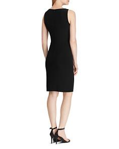 Ralph Lauren - Petites Ruched Jersey Dress
