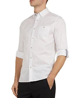 Ted Baker - Emuu Slim Fit Linen Shirt