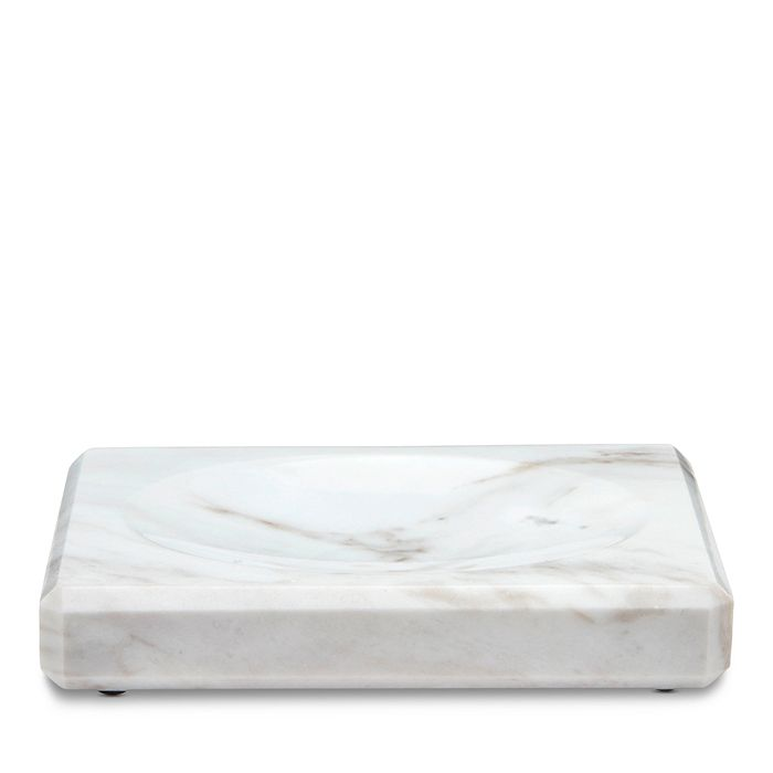 "Waterworks - ""White Marble"" Soap Dish"
