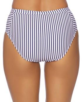 Splendid - Thin Blue High-Waist Bikini Bottom