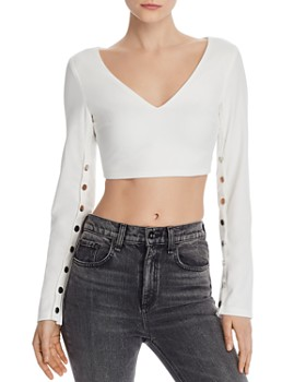 Tiger Mist - Karter Open-Back Cropped Top