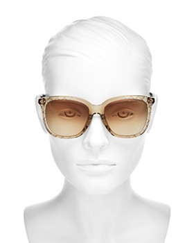 Bottega Veneta - Women's Square Sunglasses, 55mm