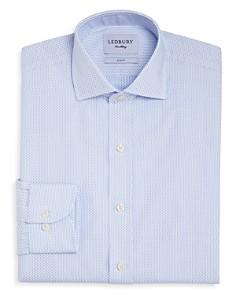 Ledbury - Chapin Dot Slim Fit Dress Shirt