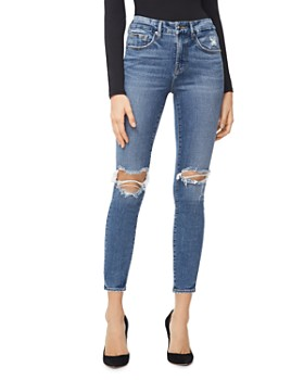 Good American - Good Legs Crop Skinny Jeans in Blue261