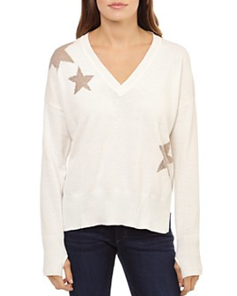Theo & Spence - Metallic-Star Sweater