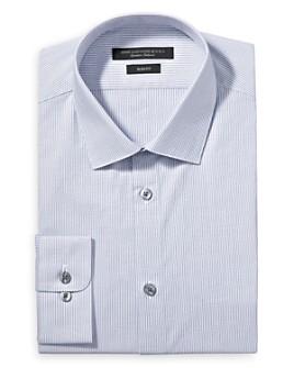 John Varvatos Star USA - Chevron Stripe Slim Fit Dress Shirt