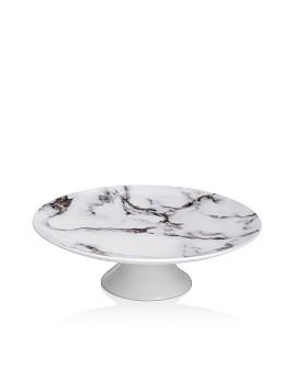 Prouna - Marble Venice Fog Pedestal Cake Stand