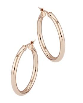 2b4334fac Bloomingdale's - Small Hoop Earrings in 14K Rose Gold - 100% Exclusive ...
