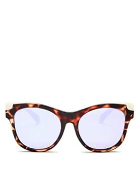 2afa5751b79 Quay - Women s It s My Way Mirrored Cat Eye Sunglasses