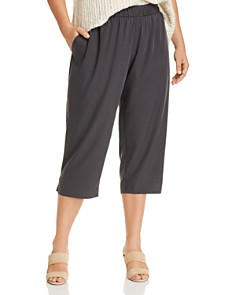 Eileen Fisher Plus - Slouchy Cropped Pants