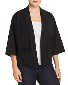 Eileen Fisher Plus - Cropped Cardigan