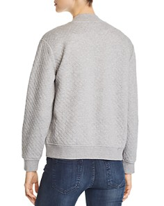 Eileen Fisher Petites - Quilted Bomber Jacket