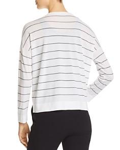 Eileen Fisher - Striped V-Neck Cardigan