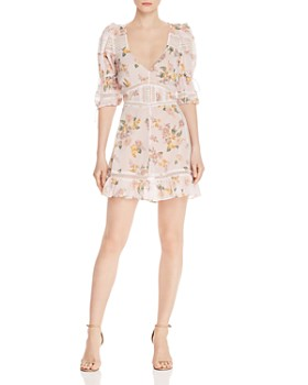 1d5d70ee3b For Love & Lemons - Isadora Floral Mini Dress ...