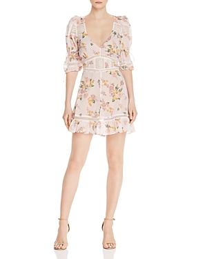 For Love & Lemons Dresses ISADORA FLORAL MINI DRESS
