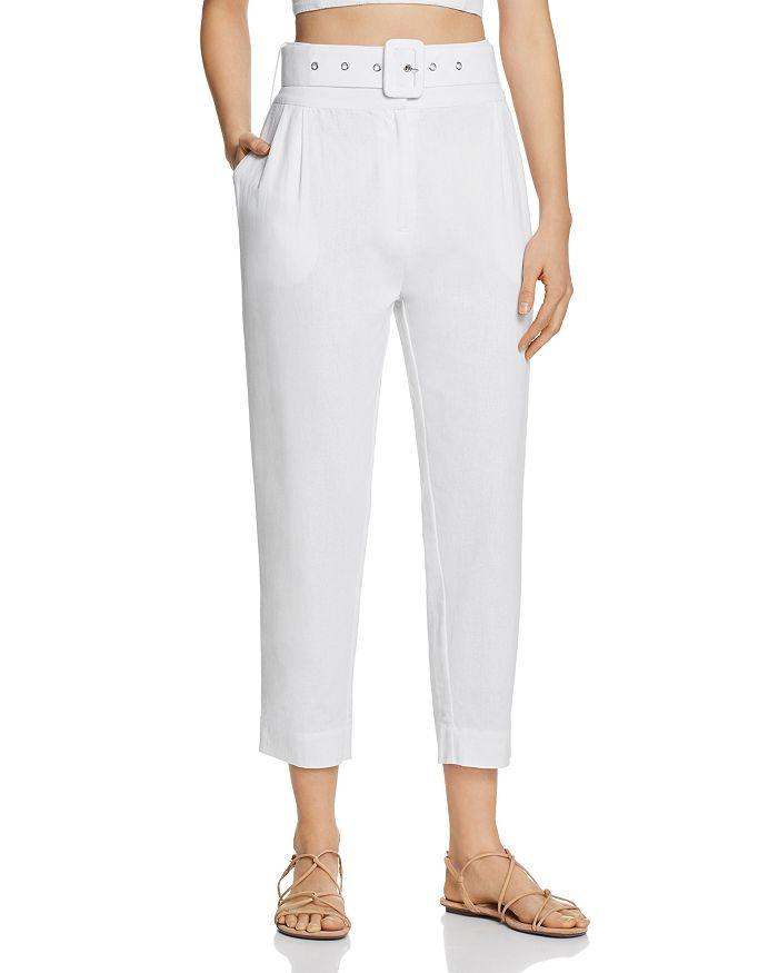S/W/F - High-Waist Cropped Pants