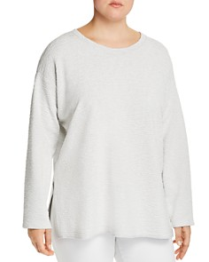 Eileen Fisher Plus - Textured Top
