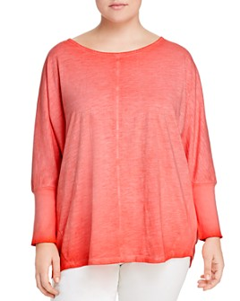 Seven7 Jeans Plus - Dolman-Sleeve Top