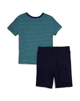 Splendid - Boys' Stripe Tee & Drawstring Shorts Set - Little Kid