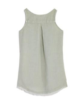 Bella Dahl - Girls' Side-Button Linen Dress - Big Kid