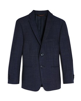 Michael Kors - Boys' Gridlock-Tweed Sport Coat - Big Kid