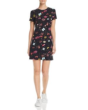 Pam & Gela Dresses FLORAL T-SHIRT DRESS