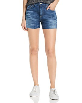 AG - Hailey Cutoff Denim Shorts in 11 Years Fortitude