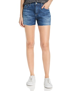 1ba88608b3 AG Women's Shorts: High Waisted, Low Rise and Jean Shorts ...