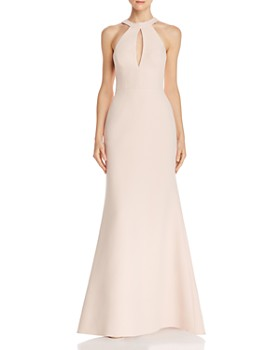 BCBGMAXAZRIA - Cutout Mermaid Gown - 100% Exclusive
