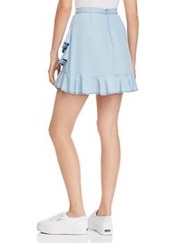 BB DAKOTA - Ruffled Chambray Skirt