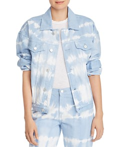 BLANKNYC - Oversized Tie-Dye Denim Jacket - 100% Exclusive