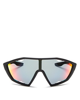 0c2014f461a Prada - Men s Linea Rossa Mirrored Shield Sunglasses