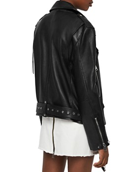 ALLSAINTS - Annina Leather Biker Jacket