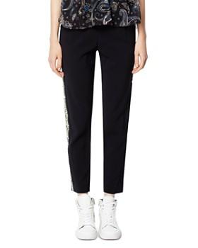 4a4c25a42967 Zadig   Voltaire - Paula Logo-Trimmed Jogger Pants ...