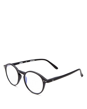 IZIPIZI - Collection D Round Blue Light Glasses, 46mm