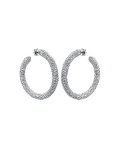 Atelier Swarovski - Core Tigris Hoop Earrings