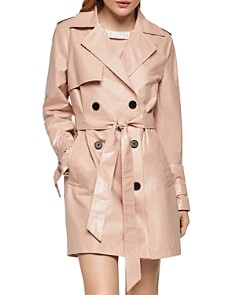 BCBGENERATION - Double-Breasted Trench Coat