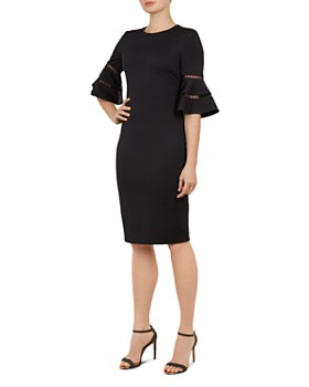 bc16d2b02b0da3 Ted Baker - Filnio Bell-Sleeve Dress ...