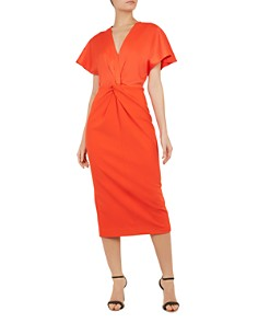 Ted Baker - Ellame Twist-Front Dress