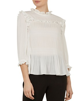 Ted Baker - Airlie Pleated Top