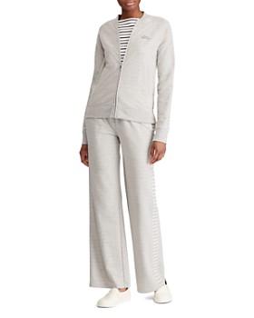 Ralph Lauren - Zip-Front Knit Varsity Jacket