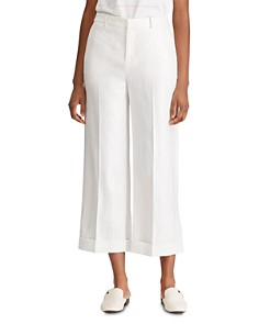 Ralph Lauren - Cropped Wide-Leg Pants