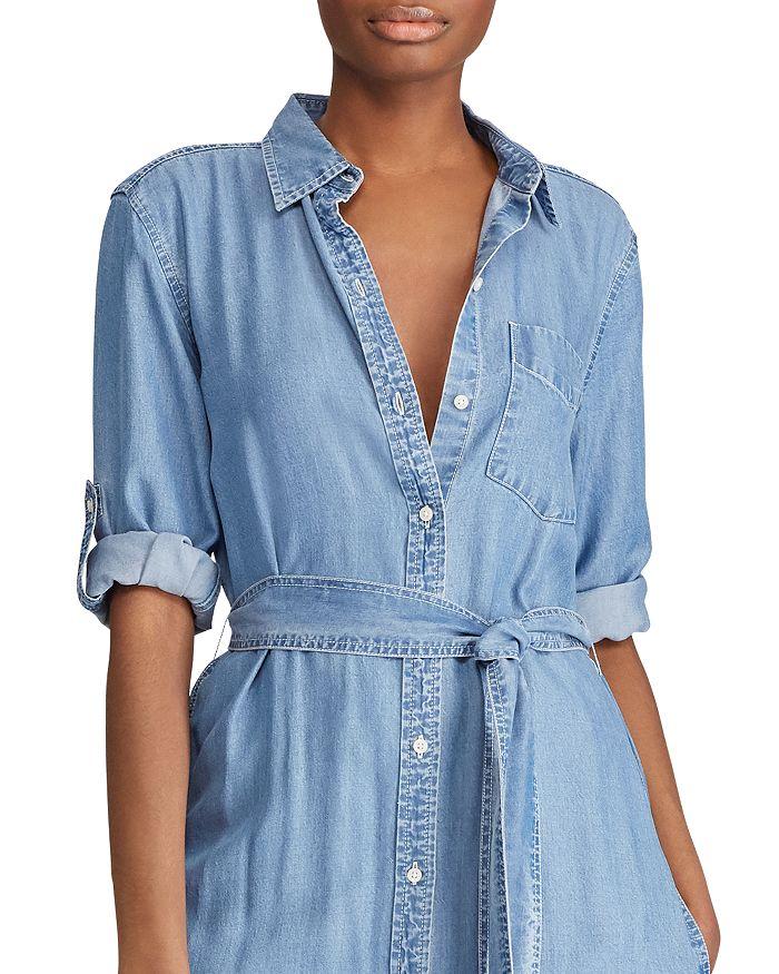 e04f9e6e69 Ralph Lauren - Denim Midi Shirt Dress
