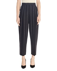Sandro - Malys Striped Cropped Pants