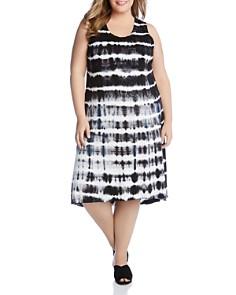 Karen Kane Plus - Sleeveless Tie-Dye Dress
