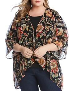 Karen Kane Plus - Floral-Print Kimono